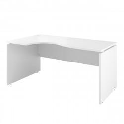 Стол криволинейный Дублин ДБ06.30, левый, 1600*900*750, белый
