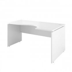 Стол криволинейный Дублин ДБ08.30, правый, 1600*900*750, белый