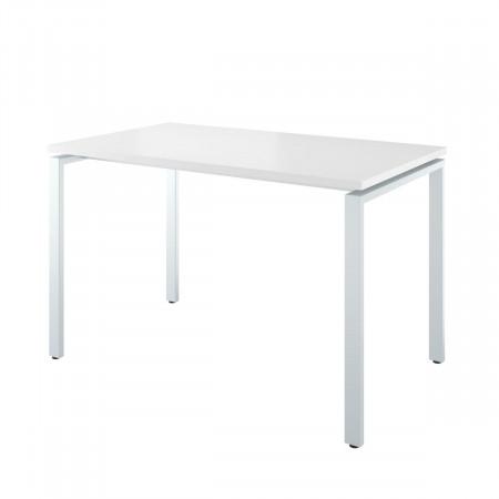 Стол письменный Дублин ДБ51.30, на металлокаркасе, 1200*700*745, белый