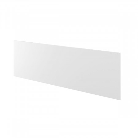 Экран Дублин ДБ64.30, с держателями, 1400*450*18, белый, ДБ10+ДБ35