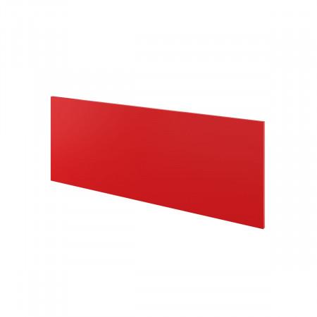 Экран Дублин ДБ63.35, с держателями, 1200*450*18, красный, ДБ09+ДБ35