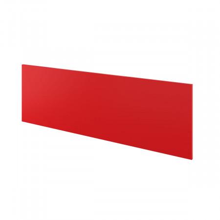 Экран Дублин ДБ64.35, с держателями, 1400*450*18, красный, ДБ10+ДБ35