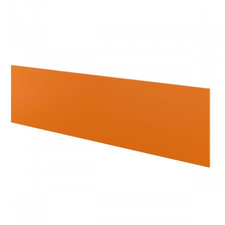Экран Дублин ДБ65.36, с держателями, 1600*450*18, оранжевый, ДБ11+ДБ35