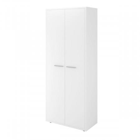 Шкаф для одежды Дублин ДБ26.30, 2 двери, 800*400*1980, белый, ДБ26_1+ДБ29*2