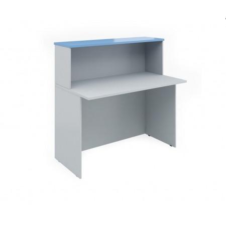 Ресепшен Эдем Э-21.4, стол, 1200*670*1160, платина синий