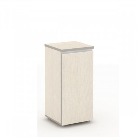 Шкаф низкий Vita, узкий, закрытый, 1 дверь, 391*387*830, сосна карелия