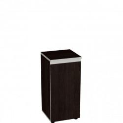 Шкаф низкий Vita, узкий, закрытый, 1 дверь, 391*387*830, сосна ларедо