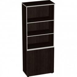 Шкаф высокий Vita, 3 открытые полки, 2 двери, 777*387*1980, сосна ларедо