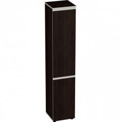 Шкаф высокий Vita, узкий, закрытый, 2 двери, 391*387*1980, сосна ларедо