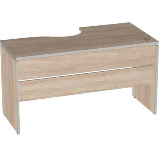 Стол эргономичный Vita V-1.4, правый 7, 1400/550*700/550*750, дуб сонома