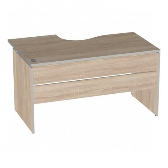 Стол эргономичный Vita V-1.5, левый Г, 1400/550*900/700*750, дуб сонома