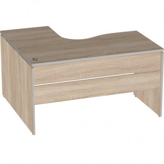 Стол эргономичный Vita V-1.7, левый Г, 1400/550*1200/700*750, дуб сонома