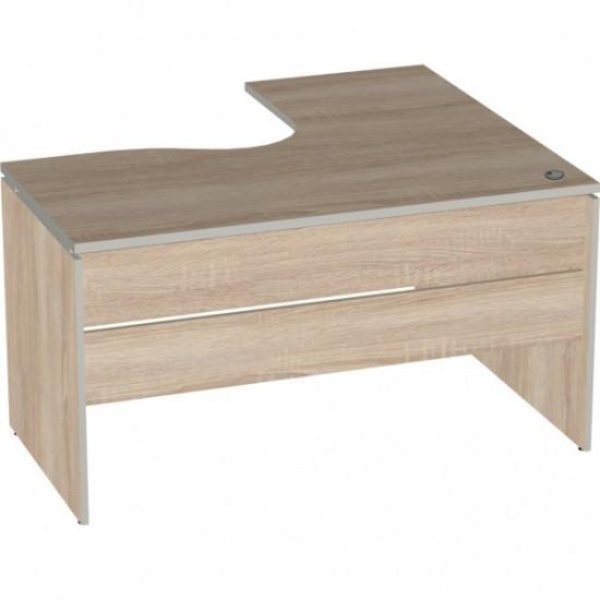 Стол эргономичный Vita V-1.7, правый 7, 1400/550*1200/700*750, дуб сонома