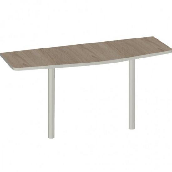 Приставка Vita V-5.5, 2 опоры, 1400*500*750, дуб сонома