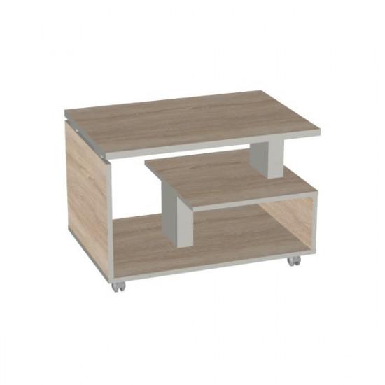 Стол журнальный Vita V-1.10, 800*550*550, дуб сонома
