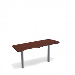 Стол приставной Форум ФР-2.4Н, правый, 1577*544*750, орех артемида
