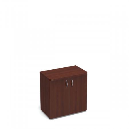 Шкаф низкий Статус, закрытый, с топом, 2 двери, 800*483*801, орех артемида