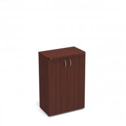 Шкаф средний Статус, закрытый, с топом,  2 двери 800*483*1177, орех артемида