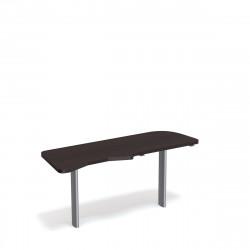 Стол приставной Форум ФР-2.4, левый, 1577*544*750, венге новый