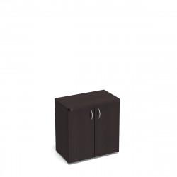 Шкаф низкий Статус, закрытый , с топом, 2 двери, 800*483*801, венге новый