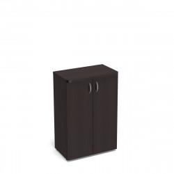 Шкаф средний Статус, закрытый, с топом, 2 двери, 800*483*1177, венге новый