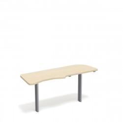 Стол приставной Форум ФР-2.4, правый, 1577*544*750, дуб молочный