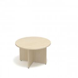 Стол для переговоров круглый Статус ФР-1.2.2, 1200*1200*750, дуб молочный