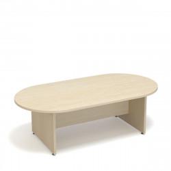 Стол для переговоров Статус С-ФР-1.2, 2400*1200*750, дуб молочный
