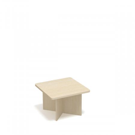 Стол журнальный Статус ФР-1.3, 800*800*550, дуб молочный