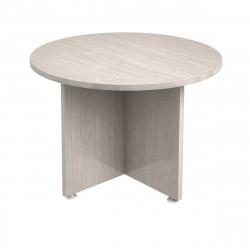 Стол для переговоров Гранд GrY-13, круглый, 1100*750, ясень Шимо