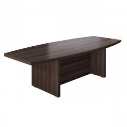 Стол для переговоров Вектор КВ8.26, 2100*1000*780, Честерфилд темный новый