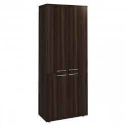 Шкаф высокий Вектор КВ201.26, закрытый, 4 двери, 818*400*2052, Честерфилд темный новый, КВ85+КВ70+КВ69