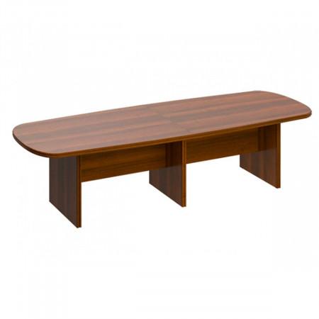 Стол для переговоров Мастер 160, составной, 3000*1100*750, орех темный