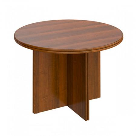 Стол для переговоров Мастер 189, круглый, 1100*750, орех темный