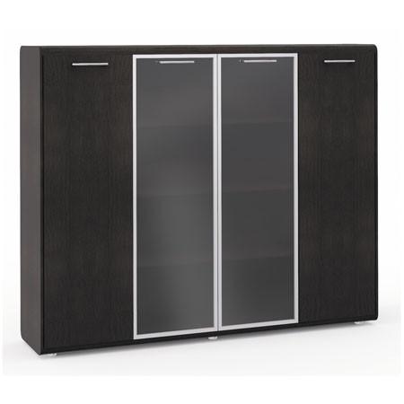 Шкаф комбинированный Vegas, 4 двери, 2050*460*1648, дуб венге
