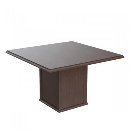 Стол для переговоров Raut RCT 1212, 1200*1200*750, Венге Магия
