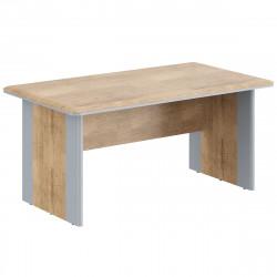 Стол руководителя Dioni DST1690, 1600*900*750, Дуб Каньон