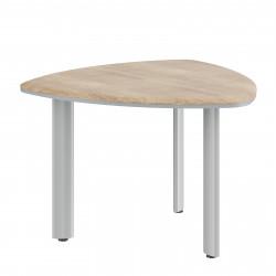 Стол для переговоров Dioni DCT110М, 1100*1100*750, Дуб Каньон