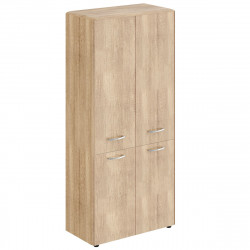 Шкаф высокий Dioni DHC85.3, закрытый, 4 двери, 892*470*1949, Дуб Каньон, ТСН85+DMD42-2+DLD42-2+DSH1945-2+DP847