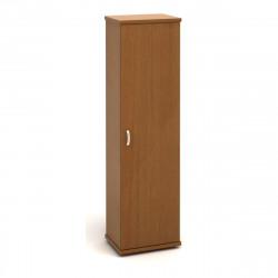 Шкаф для одежды Эталон КЭ81.3, узкий, с топом, 554*424*2066, орех гварнери, КЭ24+КЭ26