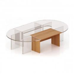 Элемент составного стола Эталон КЭ12.3, 1400*800*750, орех гварнери