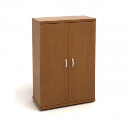 Шкаф средний Эталон КЭ52.3, закрытый, 2 двери, 854*424*1310, орех гварнери