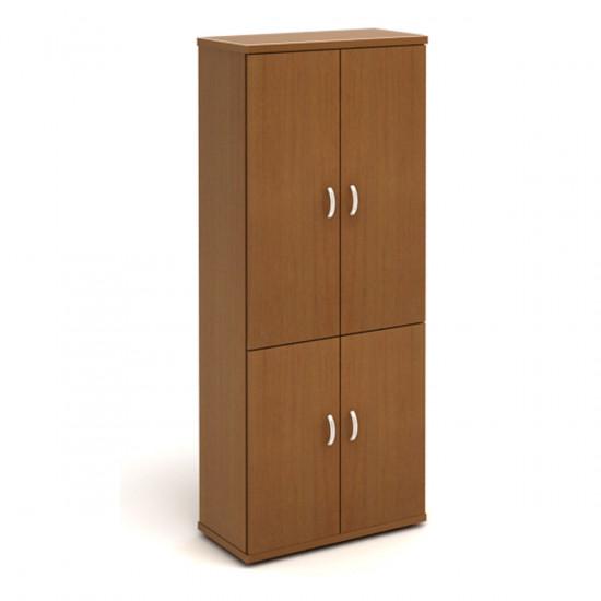 Шкаф высокий Эталон КЭ61.3, закрытый, 4 двери, 854*424*2066, орех гварнери