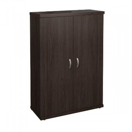 Шкаф средний Эталон КЭ52.14, закрытый, 2 двери, 854*424*1310, венге