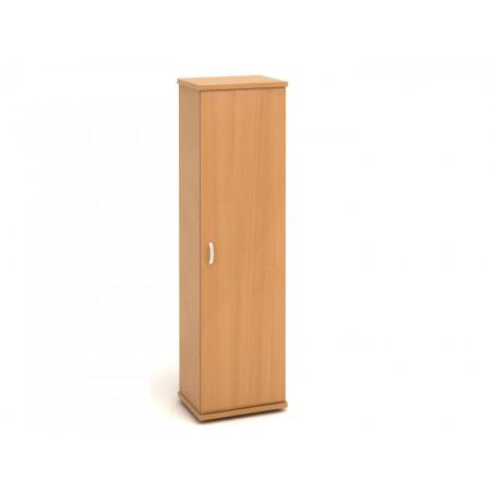 Шкаф для одежды Эталон КЭ81.1, узкий, с топом, 554*424*2066, бук бавария, КЭ24+КЭ26