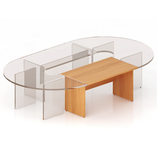 Элемент составного стола Эталон КЭ12.1, 1400*800*750, бук бавария