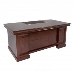 Стол руководителя Марсель 18351, 2 тумбы в комплекте, Fiorenzo, 1800*900*760, шпон орех