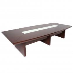 Стол для переговоров D-34, Fiorenzo, 3600*1600*760, шпон орех