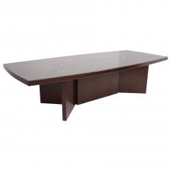 Стол для переговоров D-35, Fiorenzo, 3200*1600*760, шпон орех