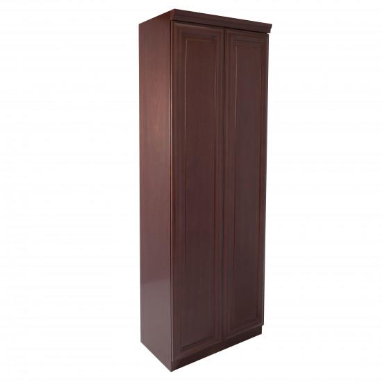 Шкаф для одежды С-900/1, Fiorenzo, 800*420*2200, шпон орех